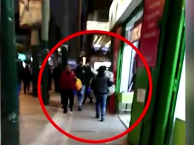 Gamarra: capturan a sujeto que pretendía robar 50 pares de zapatillas