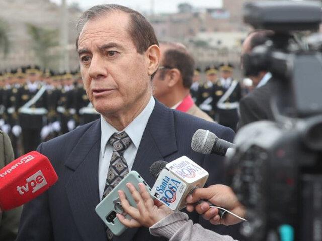 Ministro de Defensa sobre situación en Chile: estamos llanos a apoyar