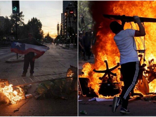 Chile: Gobierno confirmó que ya son 15 los muertos por protestas en el país