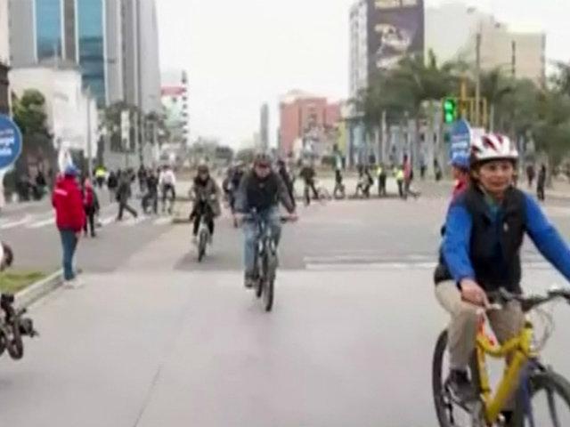 Habilitan carril para ciclistas en avenidas Tacna-Garcilaso