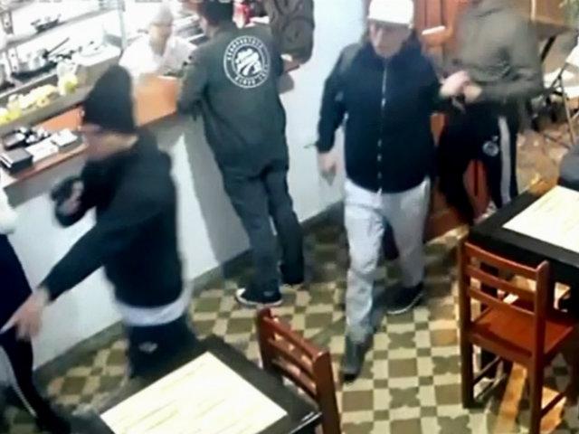 Inter-Injertos: banda internacional también asaltó cevichería en el Callao