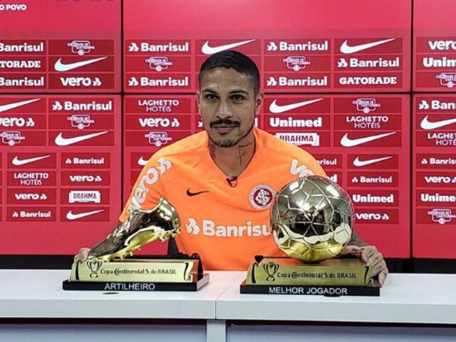 Copa de Brasil 2019: Paolo Guerrero fue premiado como goleador y mejor jugador