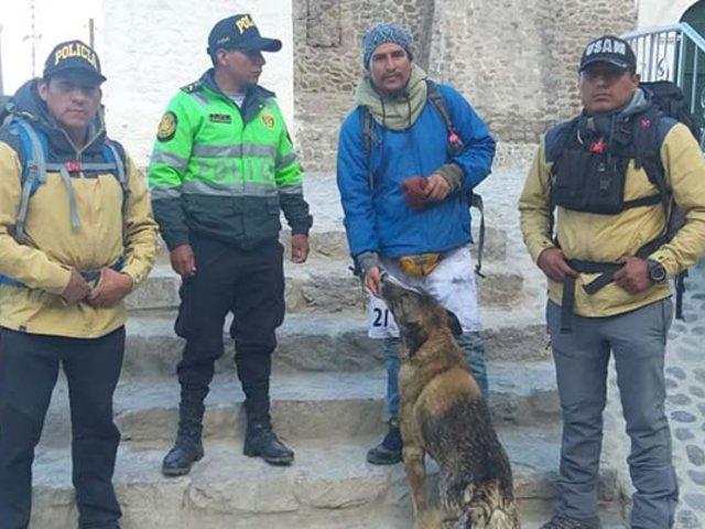 Arequipa: rescatan estudiante que se perdió en nevado del valle del Colca