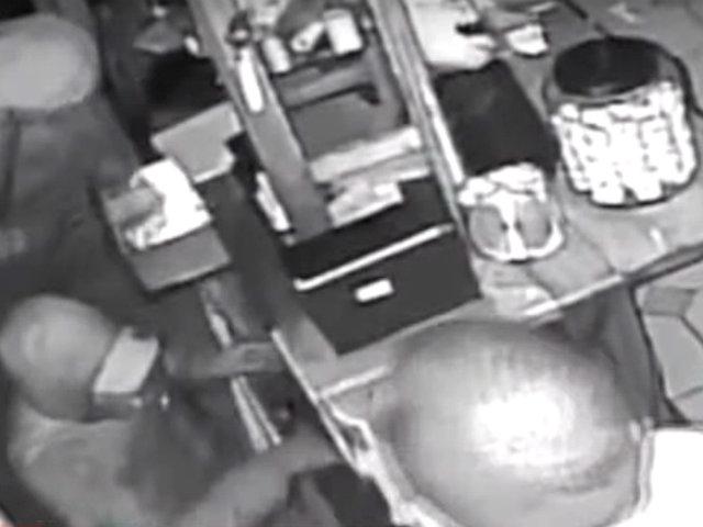 Surco: delincuentes roban más de 25 mil soles en restaurante de comida selvática