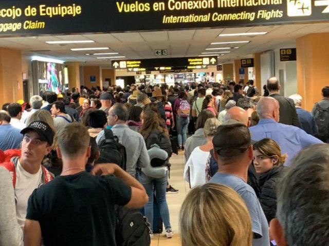 Latam se pronuncia por vuelos cancelados a Chile