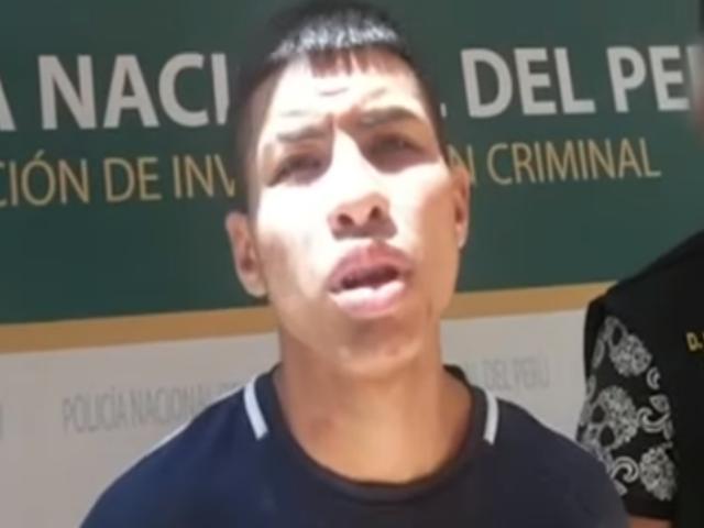Rímac: 'Cara de perro' y su banda eran terror de Av. Francisco Pizarro