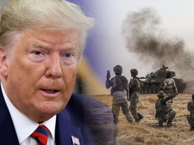 Donald Trump levanta sanciones a Turquía tras el alto al fuego en el norte de Siria