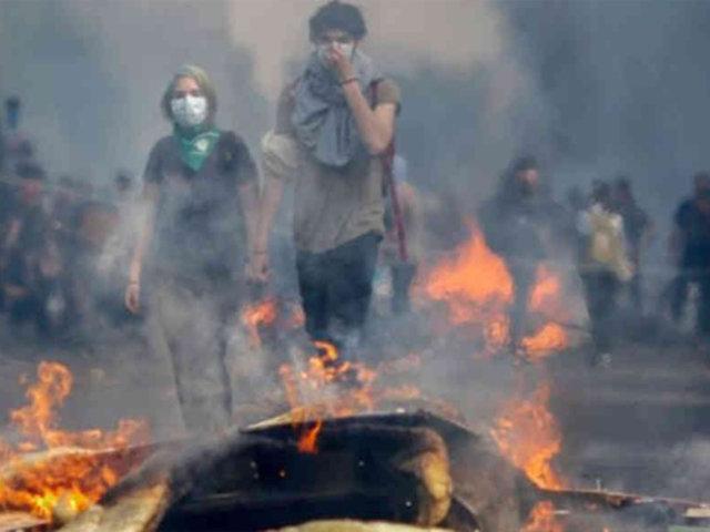 Chile: confirman toque de queda por quinto día consecutivo