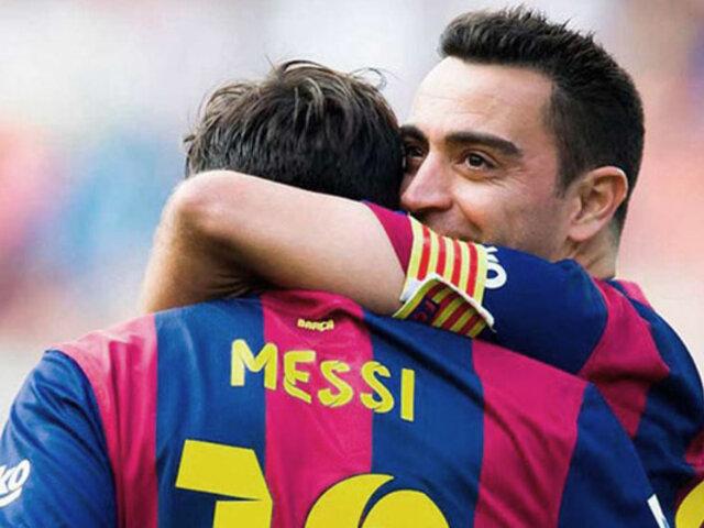 """Lionel Messi: """"Xavi volverá al Barcelona y será como Guardiola"""""""