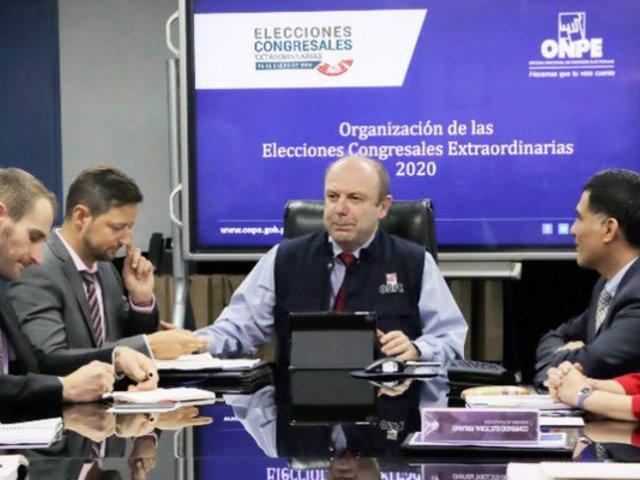 ONPE se reunió con Unión Europea para garantizar transparencia en elecciones del 2020