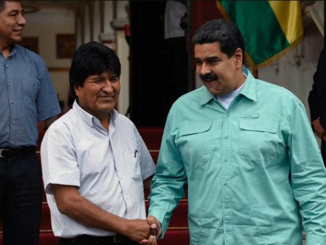 Bolivia: Nicolás Maduro pidió que reconozcan a Morales como legítimo ganador