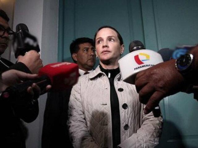 Luciana León: Fiscal de la Nación pidió su impedimento de salida por caso 'Los intocables ediles'
