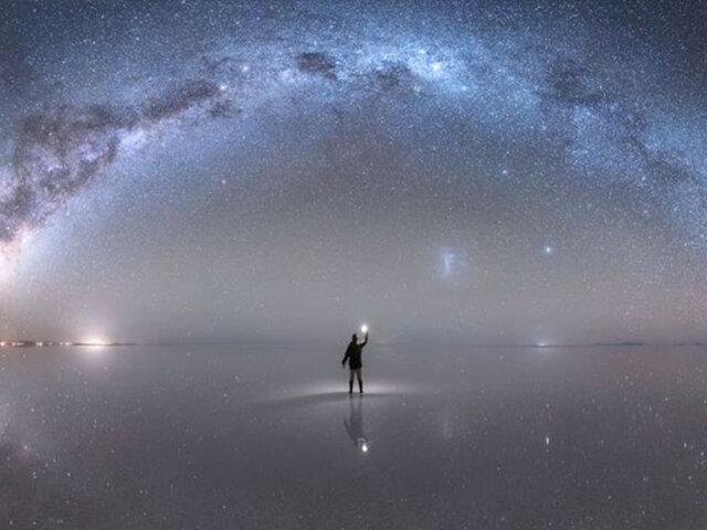 Peruano fue premiado por la NASA por esta impactante fotografía de la Vía Láctea