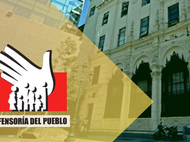"""Defensoría del Pueblo pide """"sinceramiento"""" de datos sobre  la pandemia en el Perú"""