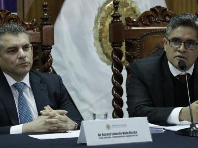 Pedro Chávarry: juez citó a Rafael Vela y Domingo Pérez para dar testimonio sobre su remoción