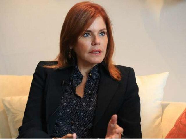 Mercedes Aráoz: Congreso evaluará su renuncia a la vicepresidencia este jueves