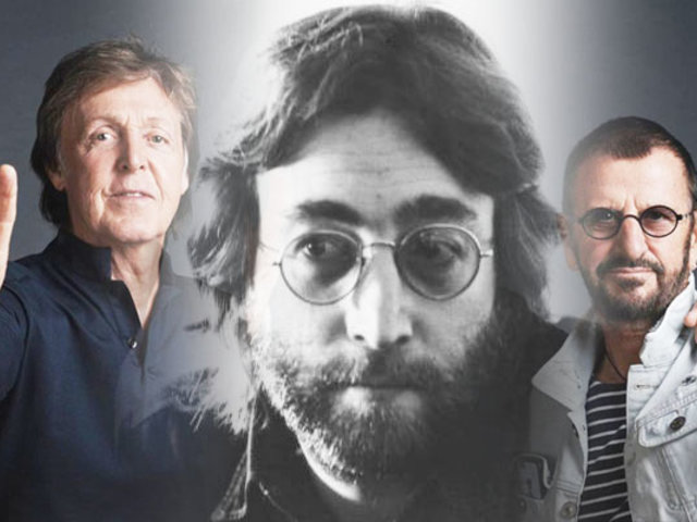 Paul McCartney y Ringo Starr graban tema escrito por John Lennon