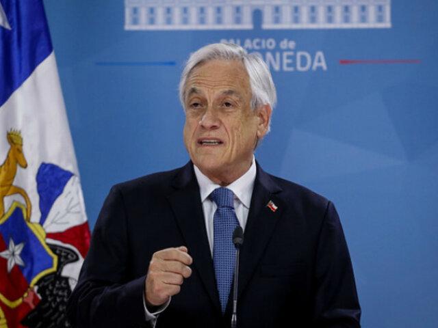 Chile: Piñera rechazó por primera vez abusos policiales en protestas