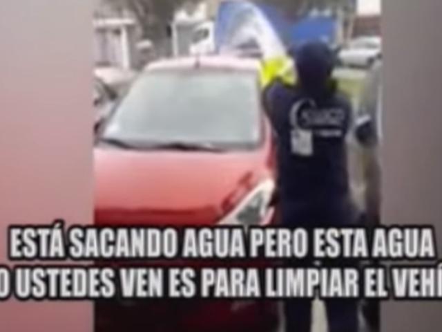 Santa Anita: fiscal habría mandado a trabajadora de limpieza a lavar su auto