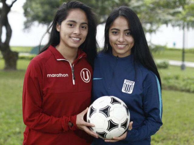 Hermanas y rivales: las gemelas que se enfrentan en la final del fútbol femenino