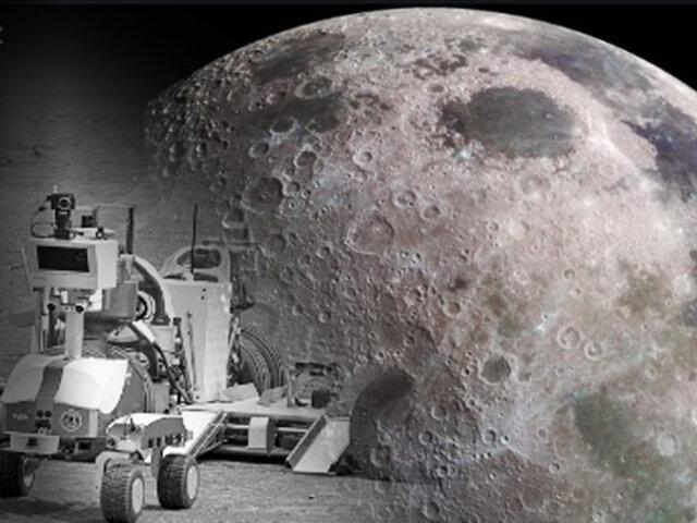 NASA: robot recorrerá la Luna en busca de depósitos de hielo en 2022