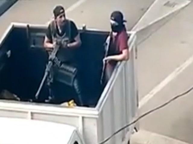 México: sicarios evitan detención de su líder 'Camaleón'