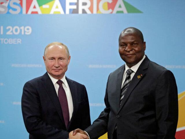 Rusia ha perdonado 20.000 millones de dólares en deuda a África