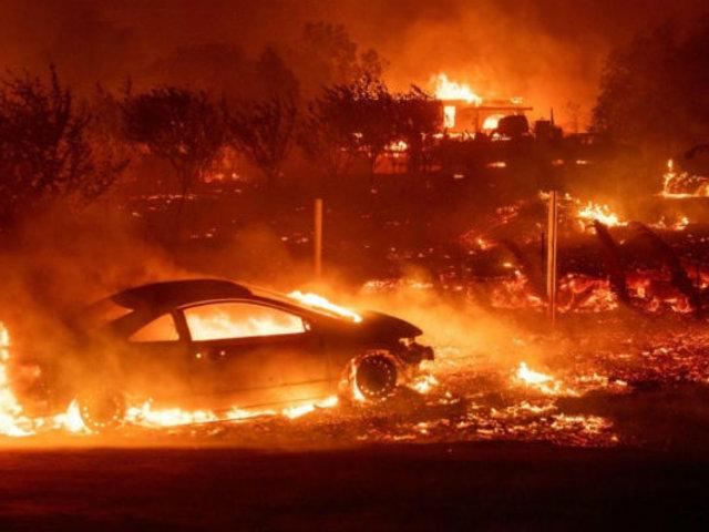 Estados Unidos: declaran estado de emergencia en California por incendio forestal