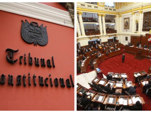 Congreso conformó comisión encargada de seleccionar a  magistrados del TC