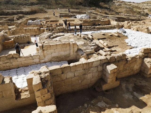 Tierra Santa: descubren iglesia de más de mil años dedicada a un ´Glorioso Mártir´