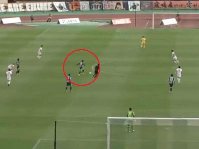 VIDEO: Dos espectaculares goles de media cancha se anotaron en el fútbol japonés