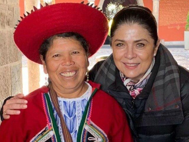 Victoria Ruffo: ''La madrasta'' comparte fotos de su inolvidable viaje a Cusco