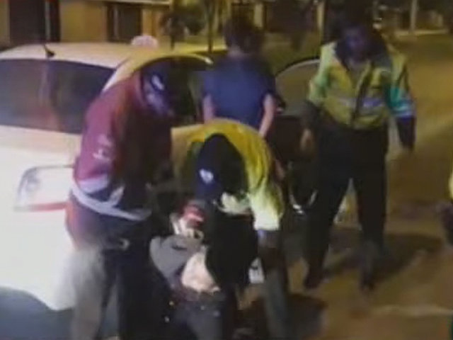 Cercado de Lima: detienen a ladrones de autopartes tras persecución