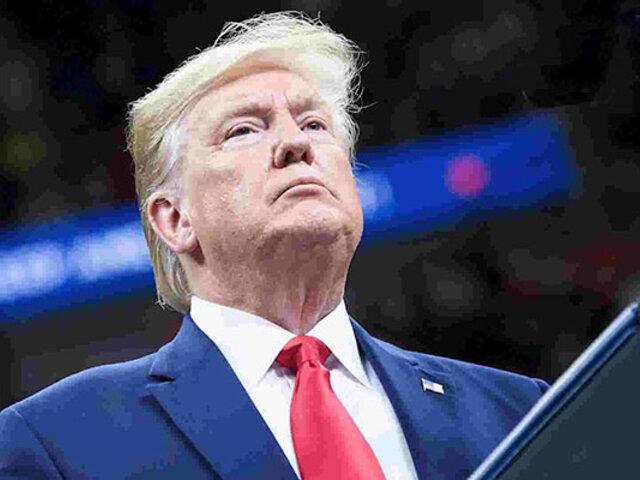 Trump dispuesto a testificar por escrito ante Congreso sobre caso Ucrania