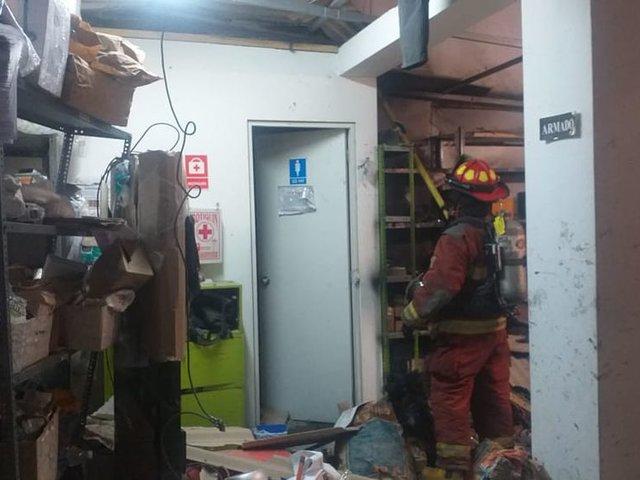 Surco: deflagración tras manipulación de balón de gas deja ocho heridos