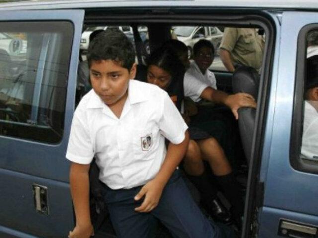 Aprueban norma para garantizar seguridad en viajes de escolares