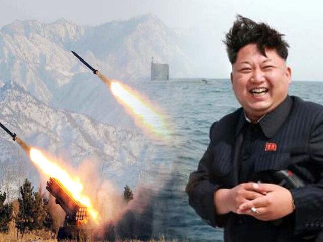 Corea del Sur afirma que Corea del Norte disparó 2 proyectiles no identificados