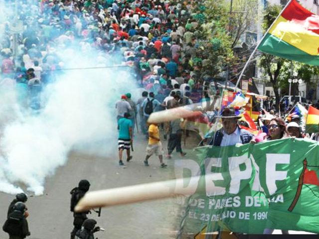 Bolivia: dos muertos tras enfrentamiento en Santa Cruz por crisis electoral