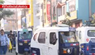 Chorrillos: mototaxistas serán reubicados tras protestas de vecinos