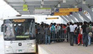 Metropolitano de Lima tiene la tercera tarifa más alta de la región
