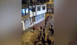 Ate: presuntos barristas causaron destrozos en viviendas de venezolanos