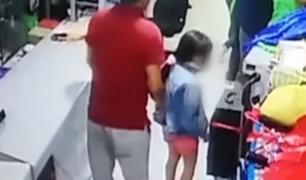 Comas: sujeto utilizó a su pequeña niña para robar celular