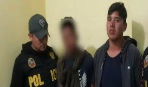 'Los Chamos del Rímac': cae banda delincuencial que asaltaba a conductores