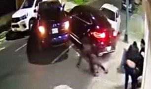 Hombre atropella a criminales para evitar ser secuestrado