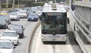 Metropolitano y corredores complementarios continuarán funcionando con normalidad