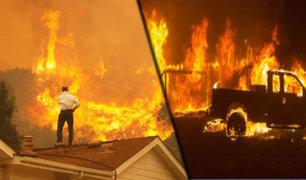 EEUU: incendio devoró dos mil hectáreas y provocó la evacuaciones de 7 mil personas