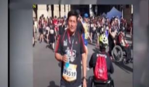 Así informó la televisión chilena sobre muerte de ciudadano peruano
