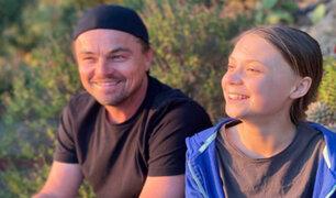 """DiCaprio se reunió con Greta Thunberg: """"gracias a ella y a los jóvenes activistas soy optimista"""""""