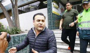 Barranco: Juan Carlos Orderique es detenido por manejar en aparente estado de ebriedad