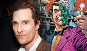 Batman: Matthew McConaughey sería otro villano en nuevo film del hombre murciélago